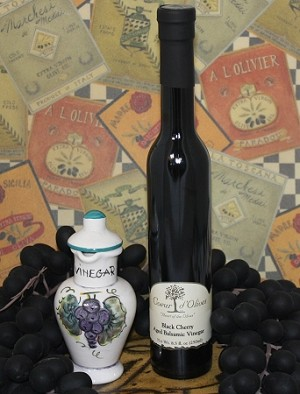 Aged Black Cherry Balsamic 250ml bottle