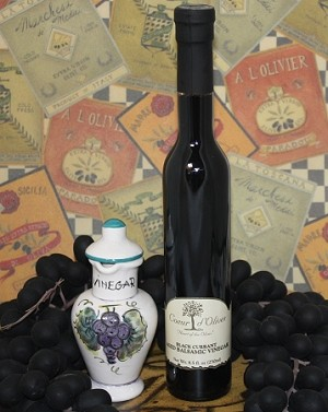Aged Black Current Balsamic 250ml bottle