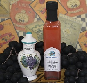 Sicilian Blood Orange White Balsamic 250ml bottle