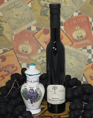 Aged Blueberry Balsamic 250ml bottle