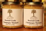 Garlic Champagne Mustard 9oz jar