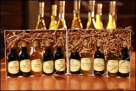 Combo Gift Pack 5/2oz bottles of misc. Balsamics & Olive Oils