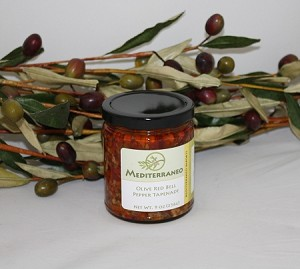 Olive & Red Bell Pepper Tapenade 9oz jar