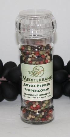Royal Peppercorn Blend in 2 oz grinder