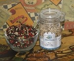 White Peppercorns 4 oz jar